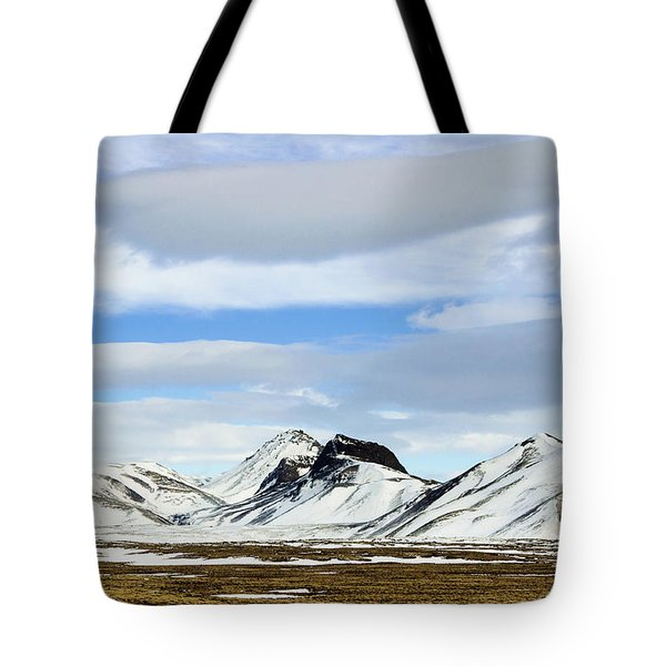 Icelandic Wilderness Tote Bag