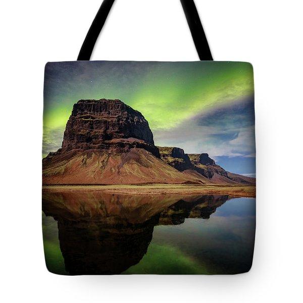 Icelanding Aurora Tote Bag