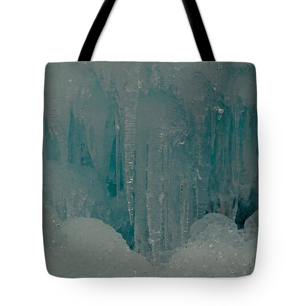 Icicle Blue Beauty Tote Bag