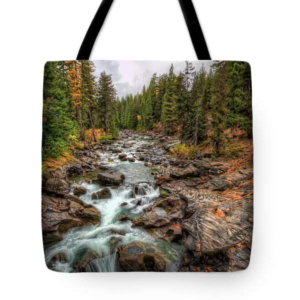 Icicle Gorge 2 Tote Bag