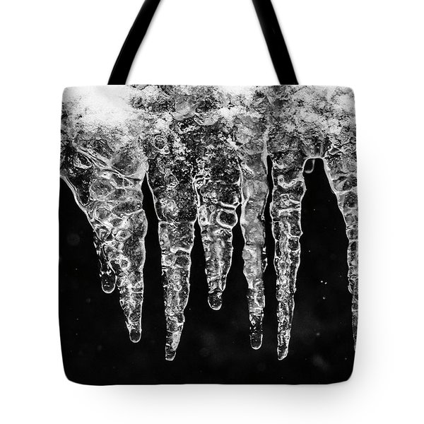 Icicles I Tote Bag