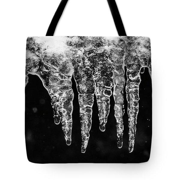 Icicles I Tote Bag