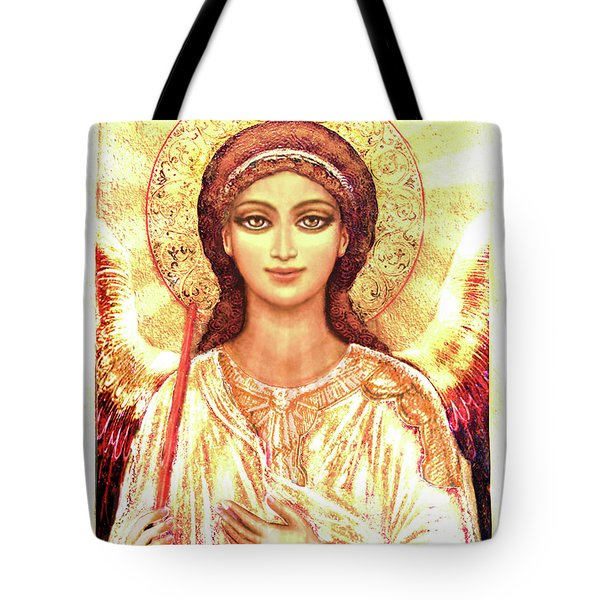 Icon Angel In A White Halo Tote Bag