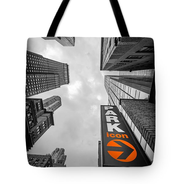 Icon Bw Tote Bag