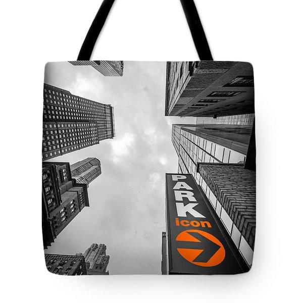 Icon Bw Tote Bag