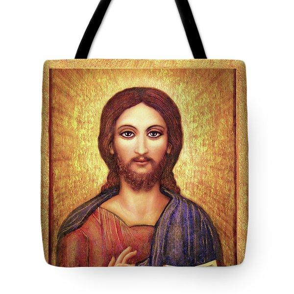 Icon Christ Tote Bag