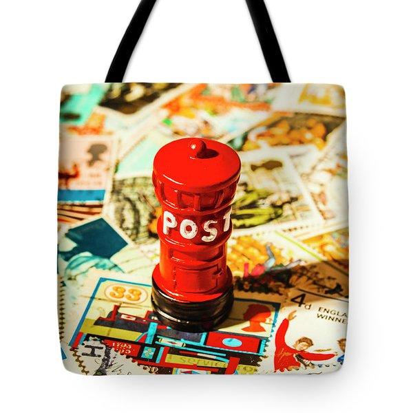 Iconic British Mailbox Tote Bag