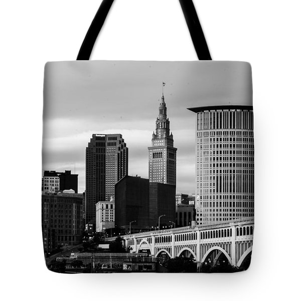 Iconic Cleveland Tote Bag