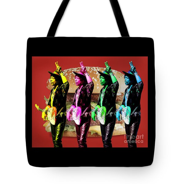 Iconic Experience Tote Bag by Keith Dillon