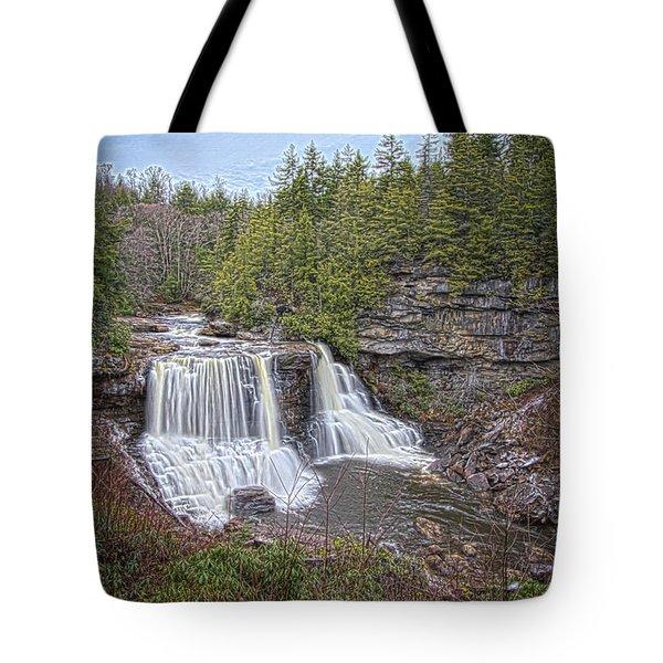 Iconic Falls Tote Bag