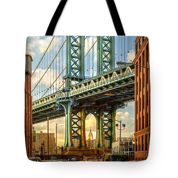 Iconic Manhattan Tote Bag