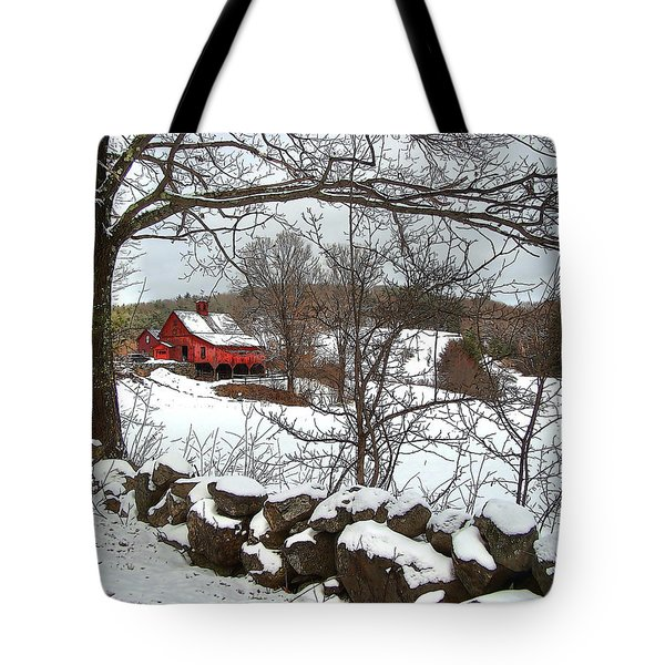Iconic New Hampshire Tote Bag