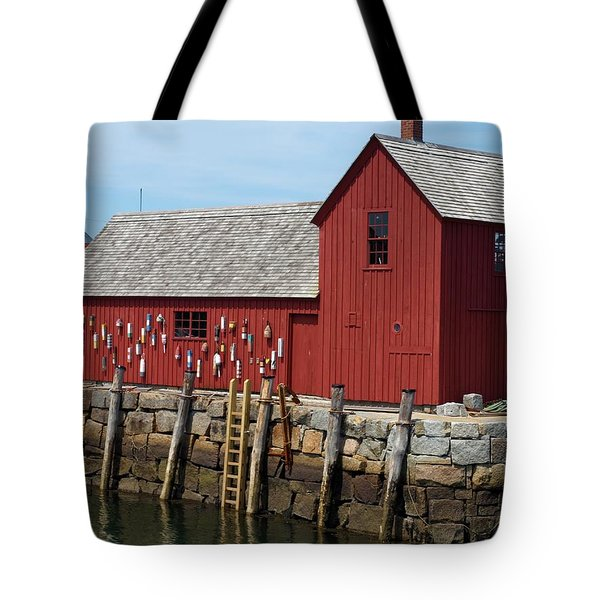 Iconic Rockport Ma Tote Bag