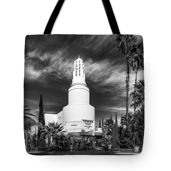 Iconic Tower Theatre Tote Bag