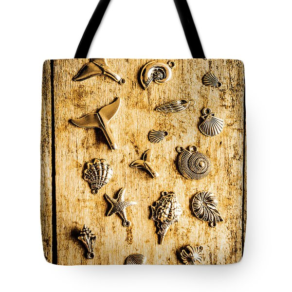 Icons In Nautical Elegance Tote Bag