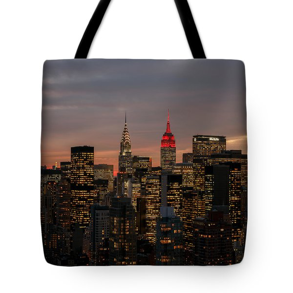 Icons Of Nyc Tote Bag