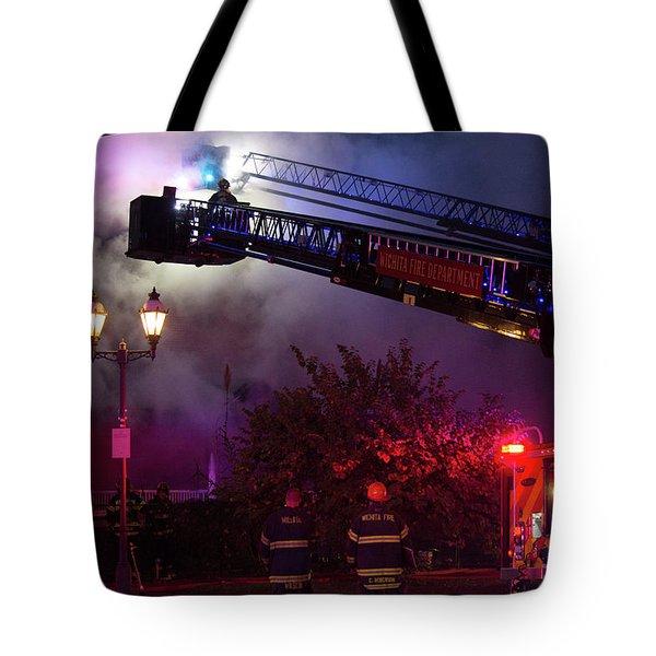 Ict - Burning Tote Bag