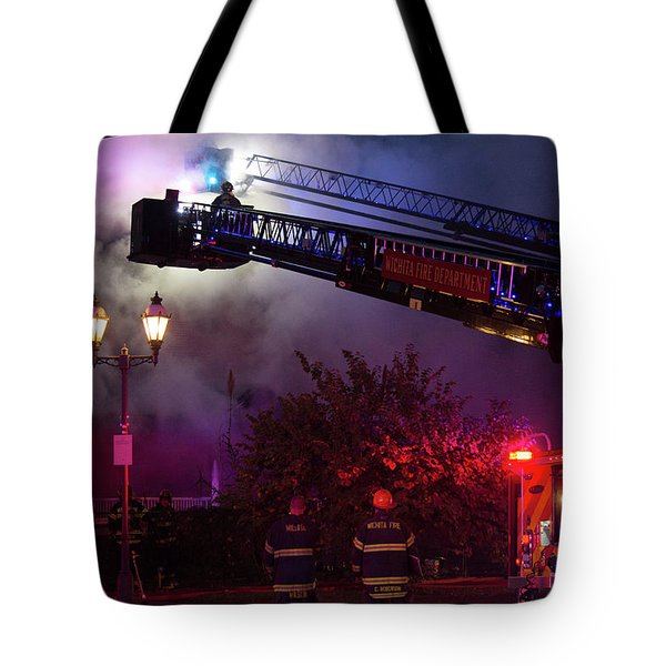 Ict - Burning Tote Bag
