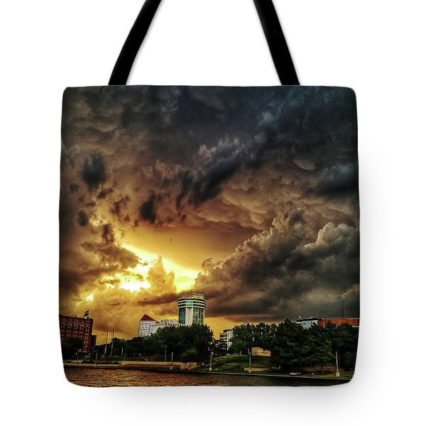 Ict Storm - From Smrt-phn Tote Bag