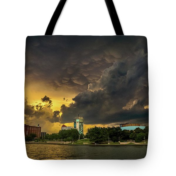ict Storm - High Res Tote Bag