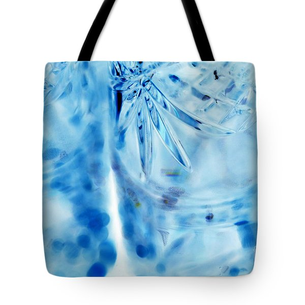 Icy Tote Bag by Amanda Barcon