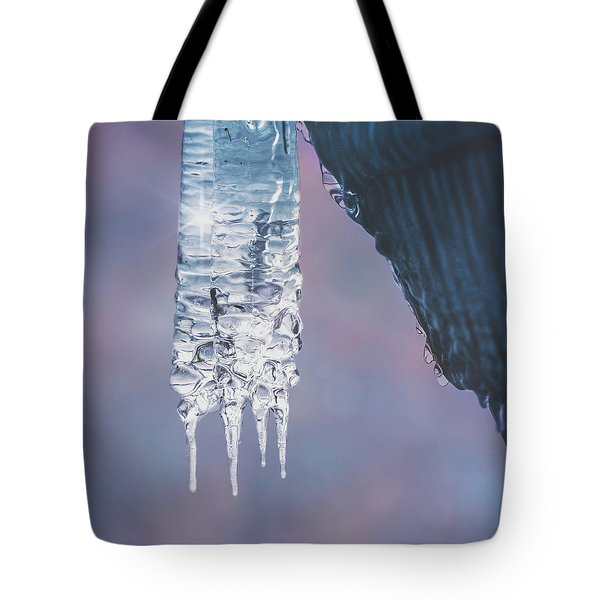 Tote Bag featuring the photograph Icy Beauty by Ari Salmela
