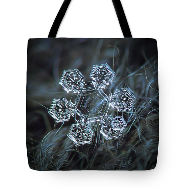 Tote Bag featuring the photograph Icy Jewel by Alexey Kljatov