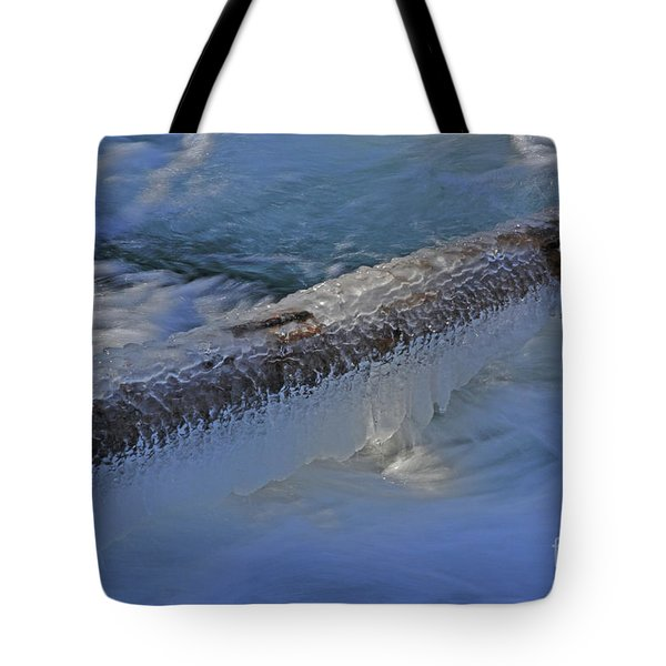 Icy Log Tote Bag