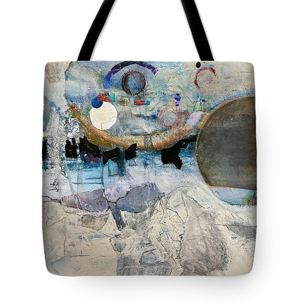 Icy Moon Tote Bag