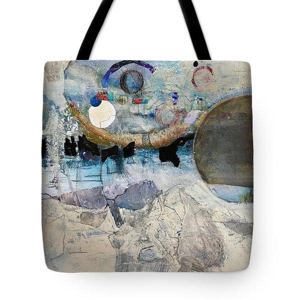 Icy Moon Tote Bag
