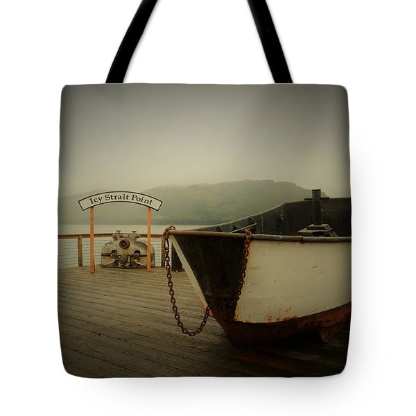 Icy Strait Point Boat Tote Bag