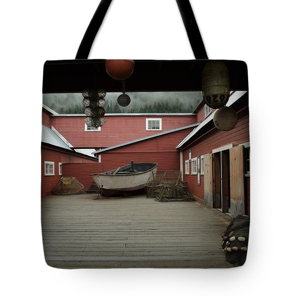 Icy Strait Point Cannery Museum Tote Bag