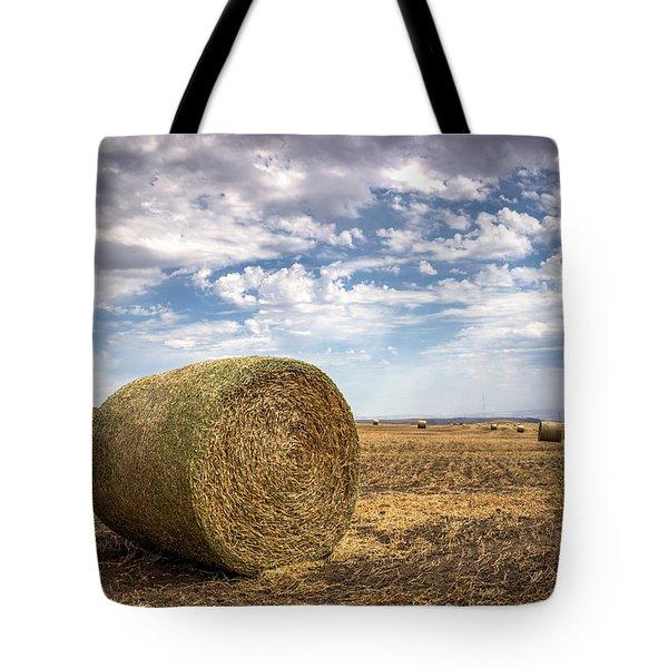 Idaho Hay Bale Tote Bag