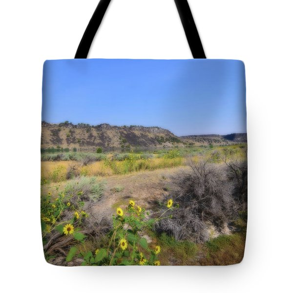 Tote Bag featuring the photograph Idaho Landscape by Bonnie Bruno