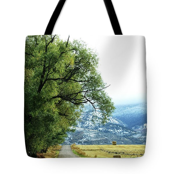 Idaho Road Trip Tote Bag by Cynthia Powell