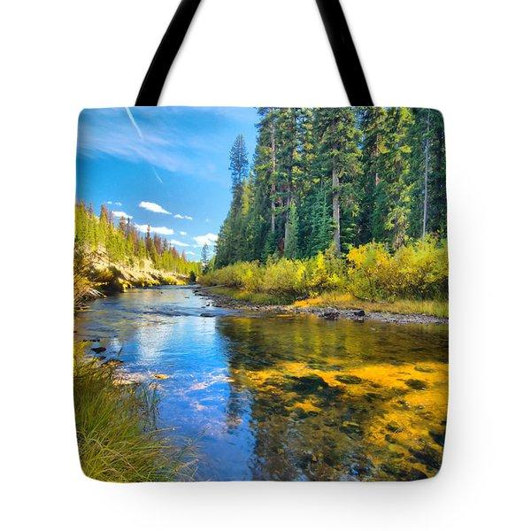 Idaho Stream 2 Tote Bag
