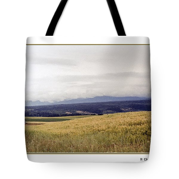 Tote Bag featuring the photograph Idaho Valley by R Thomas Berner