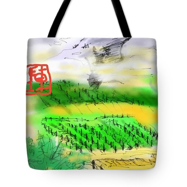 Idaho Vineyard Tote Bag