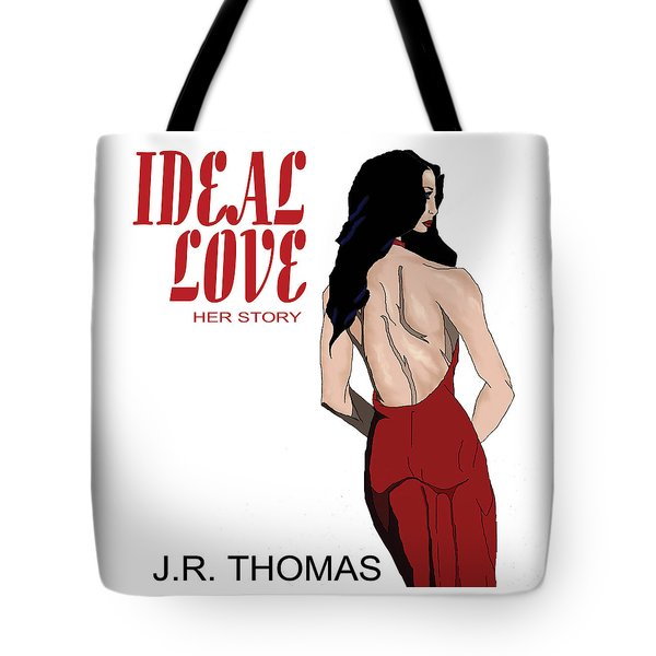 Tote Bag featuring the digital art Ideal Love Book Cover by Jayvon Thomas
