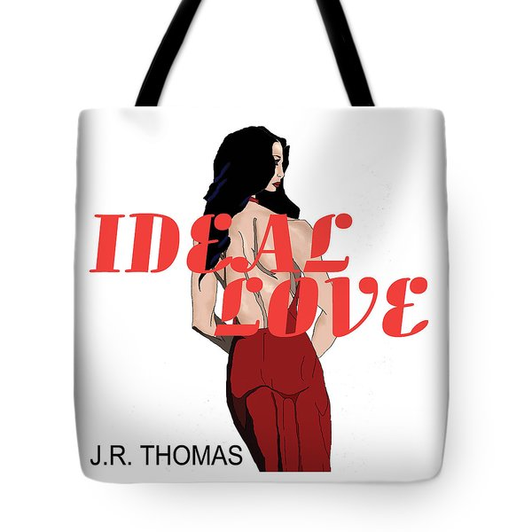 Tote Bag featuring the digital art Ideal Love Cover by Jayvon Thomas