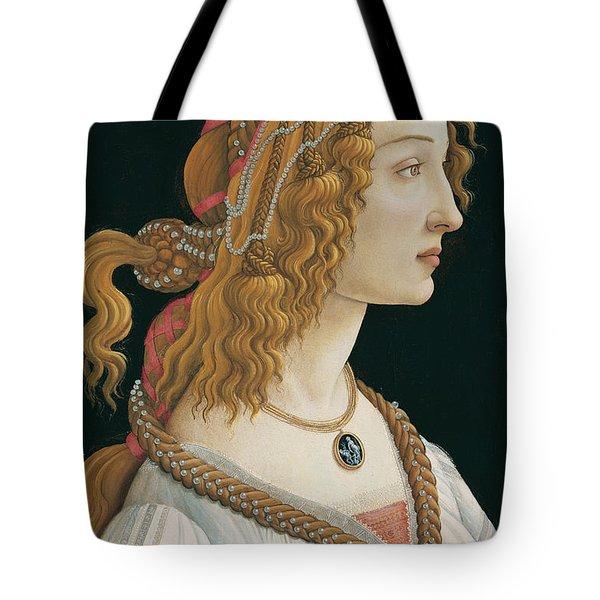 Idealized Portrait Of A Lady Tote Bag
