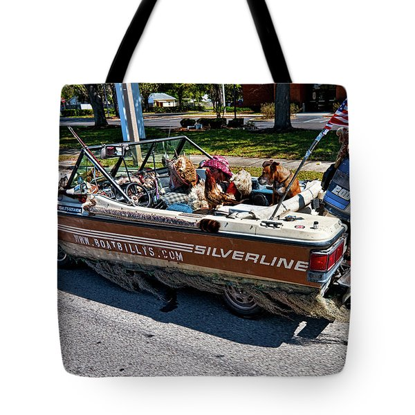 Identity Crisis Tote Bag by Christopher Holmes