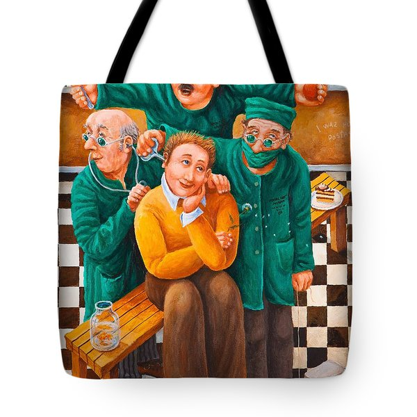 Idiot Savant Tote Bag