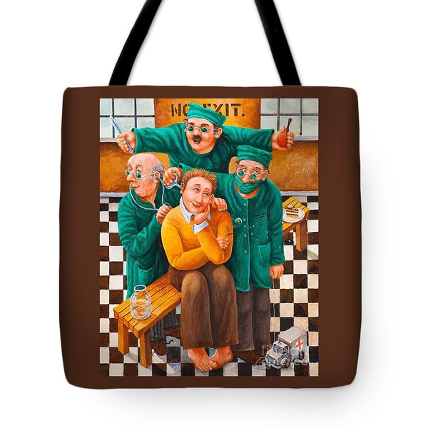 Idiot Savant Tote Bag by Igor Postash