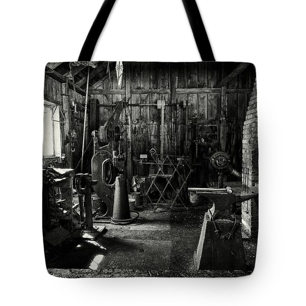 Idle Bw Tote Bag