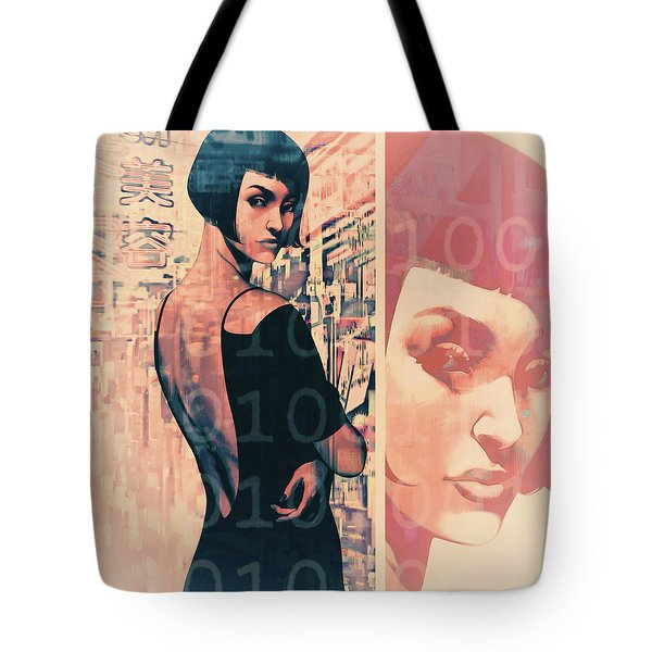 Idoru 2 Tote Bag by Udo Linke