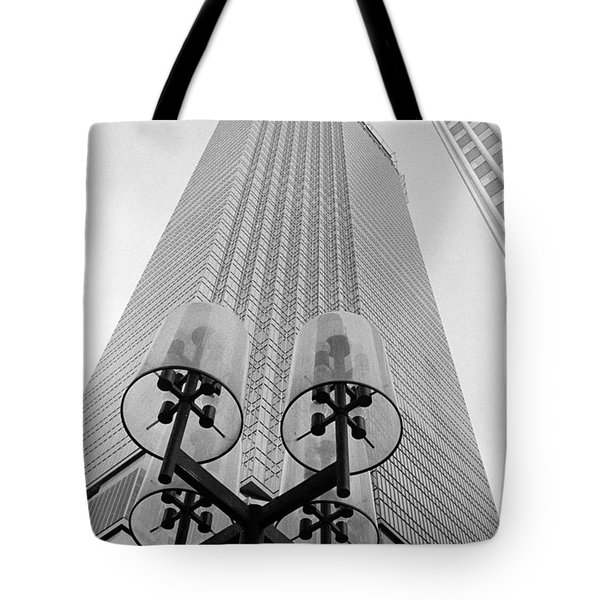 Ids  And Street Lights Tote Bag