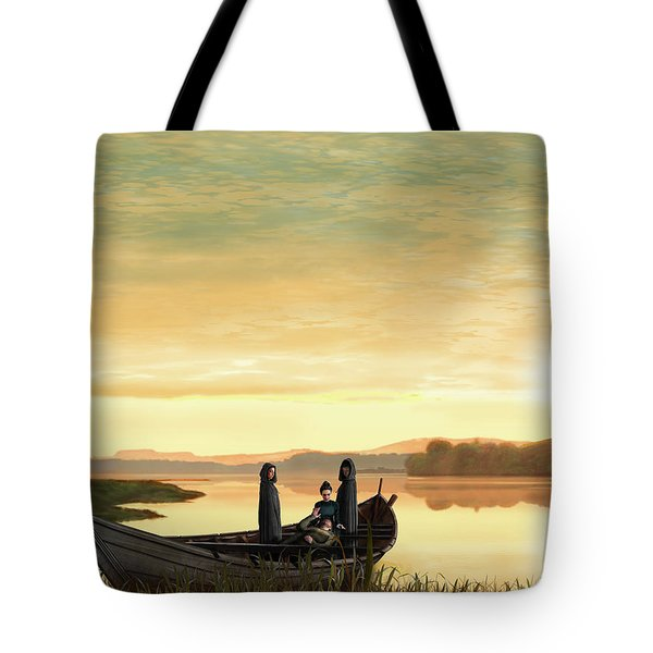 Idylls Of The King Tote Bag