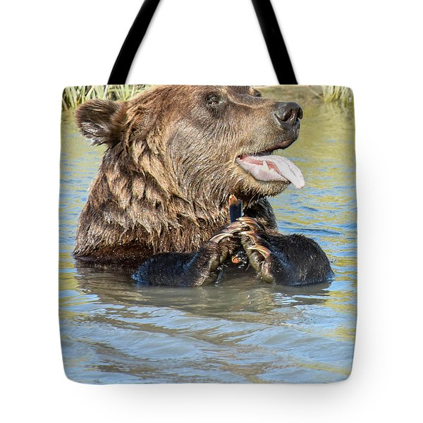 If A Bear Pants In The Woods ... Tote Bag