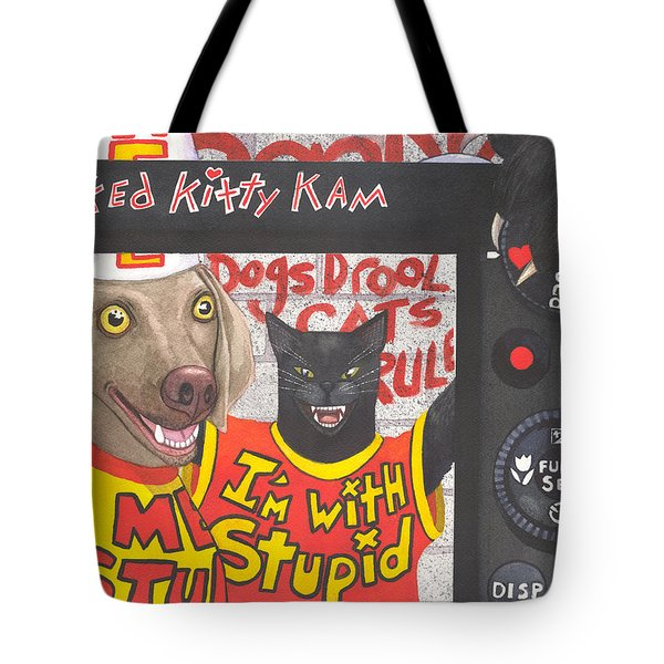 If Dogs Could Read Tote Bag